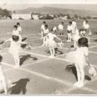 Γυμναστικές επιδείξεις. Φωτό από αρχείο Α. Φαράντου (1974)
