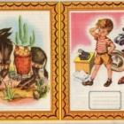 Τυπογραφικό με εξώφυλλα τετραδίων